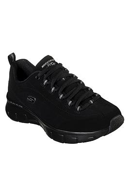 skechers-wide-fit-synergy-30-out-amp-about-mesh-bungee-lace-trainers-black