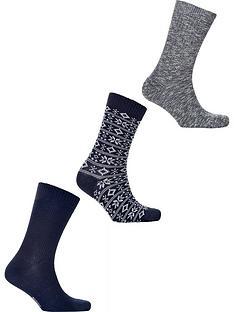 barbour-chunky-sock-gift-set-navy
