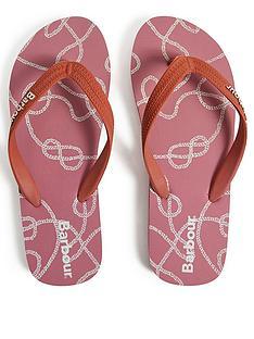 barbour-rope-print-beach-flip-flop