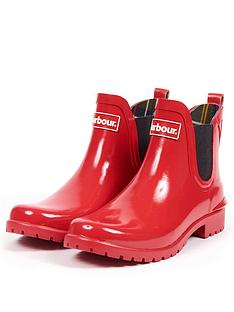 barbour-wilton-elasticated-chelsea-ankle-wellington-boots-red