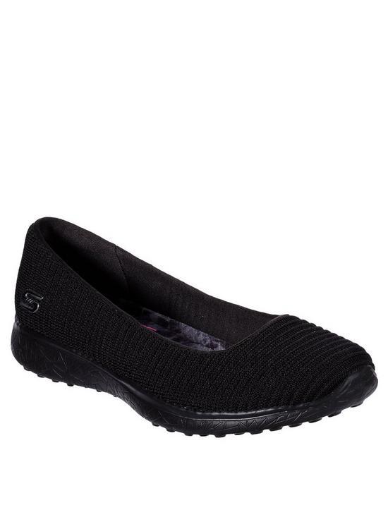 Microburst Ballerina Shoes Black