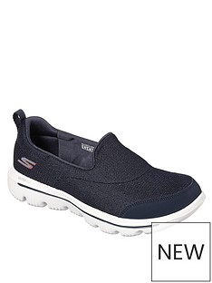 4a8c76e0 Skechers GOwalk Evolution Ultra Reach Plimsolls - Navy