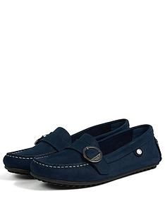 barbour-sabine-suede-buckle-stitched-loafer-shoes-blue