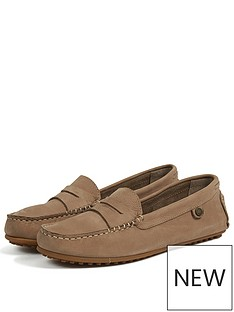barbour-danicanbspsuede-stiched-loafer-shoes-tan