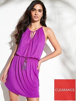 v-by-very-shirred-split-jersey-beach-maxi-dress-purple