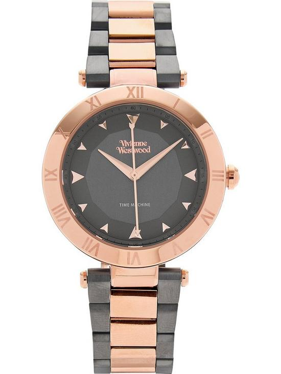 5f3e01ecf1ce VIVIENNE WESTWOOD Montagu T-bar Bracelet Watch - Rose Gold/Grey ...