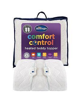 silentnight-teddy-fleece-heated-mattress-topper