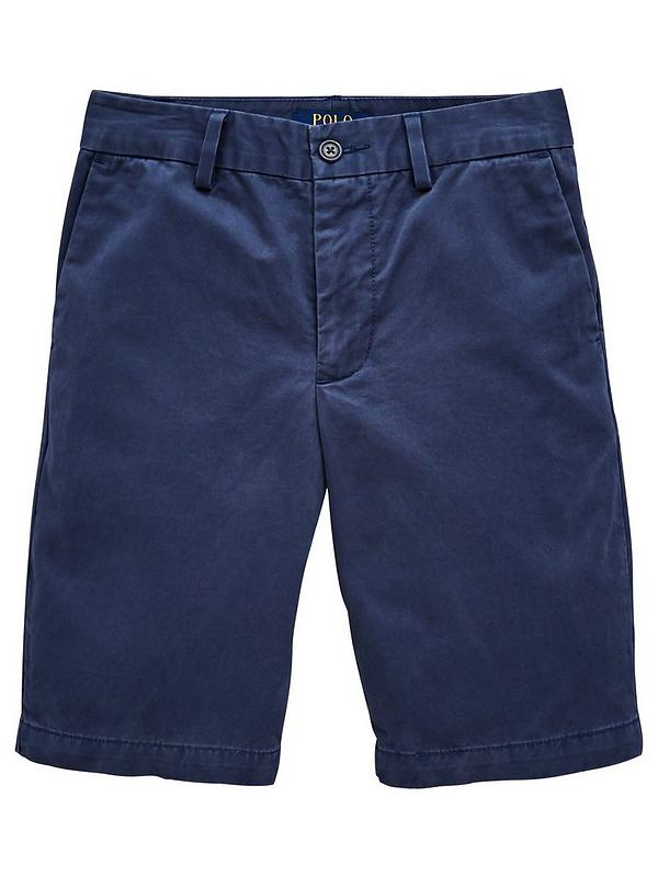 top-rated latest buy popular factory outlets Boys Classic Slim Fit Chino Short - Clancy Blue