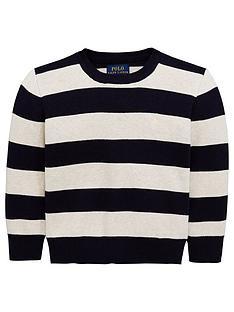 94307807861 Ralph Lauren Boys Stripe Knitted Jumper