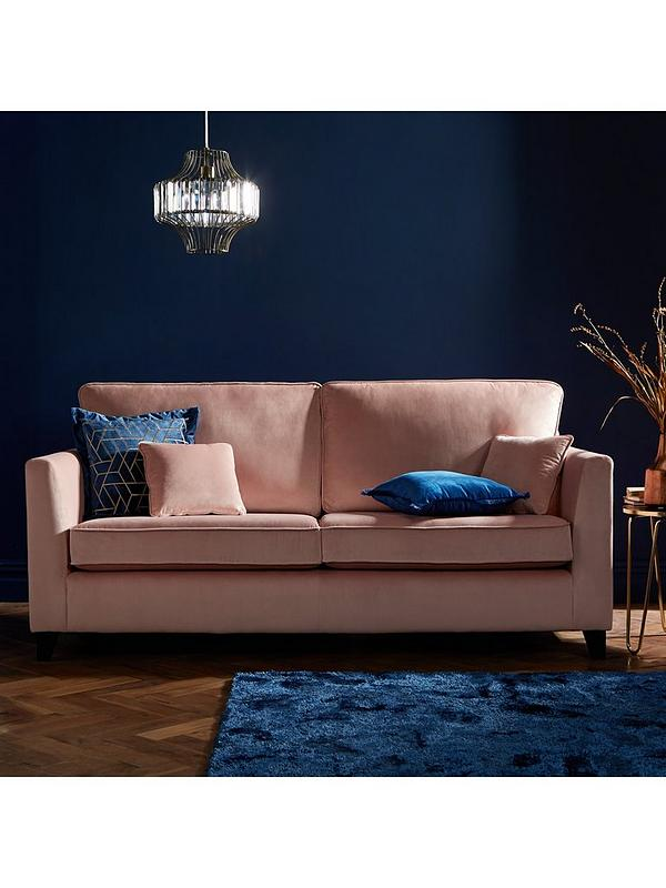 Pleasing New Dante Fabric 3 Seater Sofa Alphanode Cool Chair Designs And Ideas Alphanodeonline