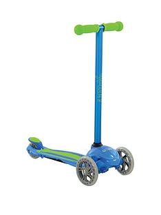 U Move - U First Fixed Tilt Scooter - Blue/Green