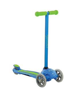 U Move U First Fixed Tilt Scooter &Ndash; Blue/Green