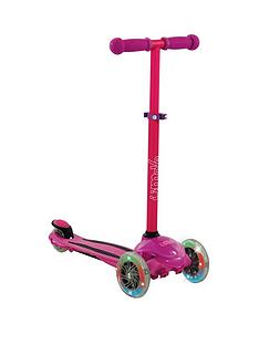 U Move - U Flex LED Tilt Scooter - Pink