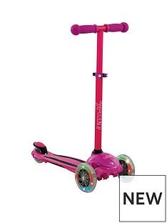 U Move - U Flex LED Tilt Scooter - Pink