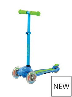 U Move - U Flex LED Tilt Scooter - Blue/Green