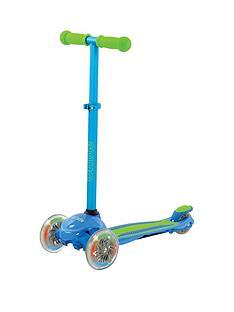 U Move U Move - U Flex LED Tilt Scooter - Blue/Green