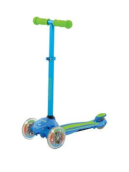 U Move U Flex Led Tilt Scooter &Ndash; Blue/Green