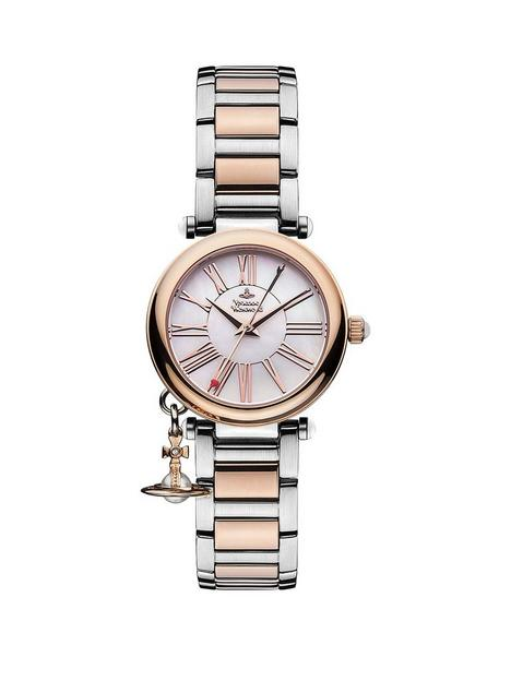 vivienne-westwood-mother-orb-mother-of-pearl-and-rose-gold-detail-dial-with-charm-two-tone-stainless-steel-bracelet-ladies-watch