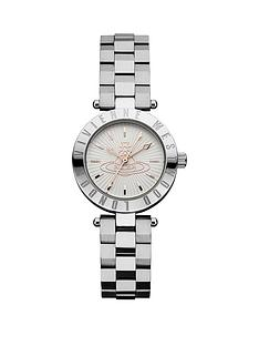 vivienne-westwood-vivienne-westwood-westbourne-textured-silver-and-rose-gold-logo-dial-stainless-steel-bracelet-ladies-watch