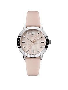 vivienne-westwood-bloomsbury-ii-textured-pink-and-silver-detail-dial-pink-leather-strap-ladies-watch