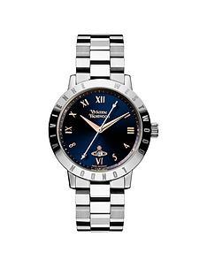 vivienne-westwood-bloomsbury-blue-and-rose-gold-detail-date-dial-stainless-steel-bracelet-ladies-watch