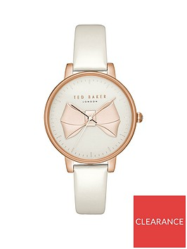 ted-baker-white-and-rose-gold-pink-bow-detail-dial-white-leather-strap-ladies-watch