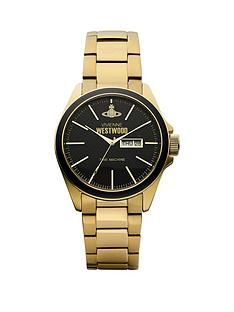vivienne-westwood-camden-lock-black-and-gold-detail-daydate-dial-pvd-gold-plated-stainless-steel-bracelet-mens-watch