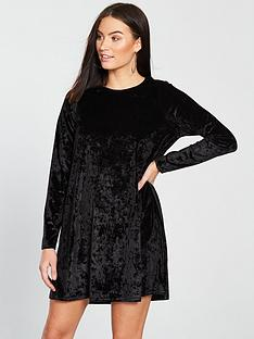 v-by-very-velvet-swing-dress-blacknbsp
