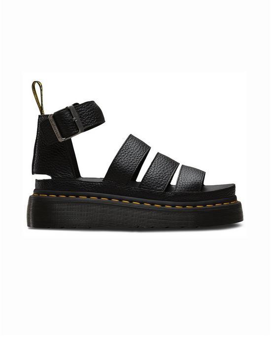 4c9036f48a34 Dr Martens Clarissa II Quad Wedge Sandals - Black