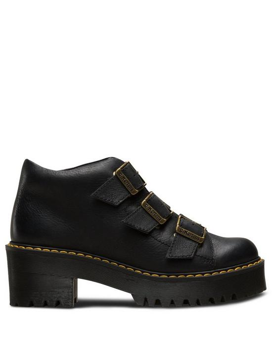 cca07d206c5b Dr Martens Coppola 3 Tie Ankle Boots - Black | very.co.uk