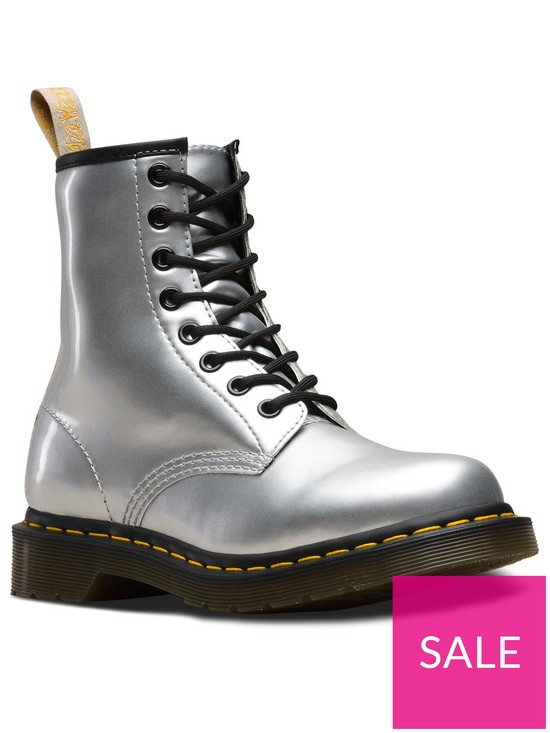 b84e1c5bbbf Dr Martens 1460 Vegan 8 Eye Ankle Boots - Pearl | very.co.uk