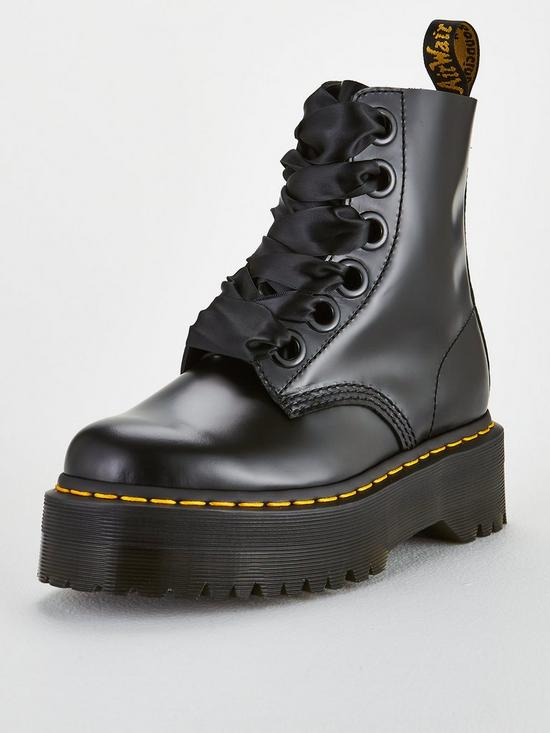 556bcaf5c96 Molly 8 Eye Ankle Boots - Black