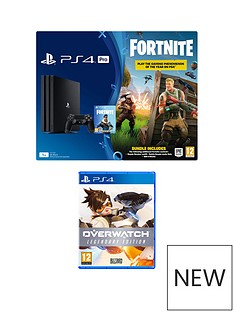 playstation-4-pro-fortnite-ps4-pro-bundle-with-overwatch-legendary-edition-plus-optional-extras