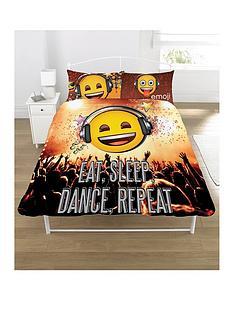 emoji-eat-sleep-dance-repeat-single-duvet-cover-set