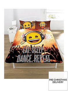 emoji-eat-sleep-dance-repeat-double-duvet-cover-set
