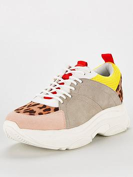 6601886b2b8 V By Very Alexa Colourblock Chunky Trainer