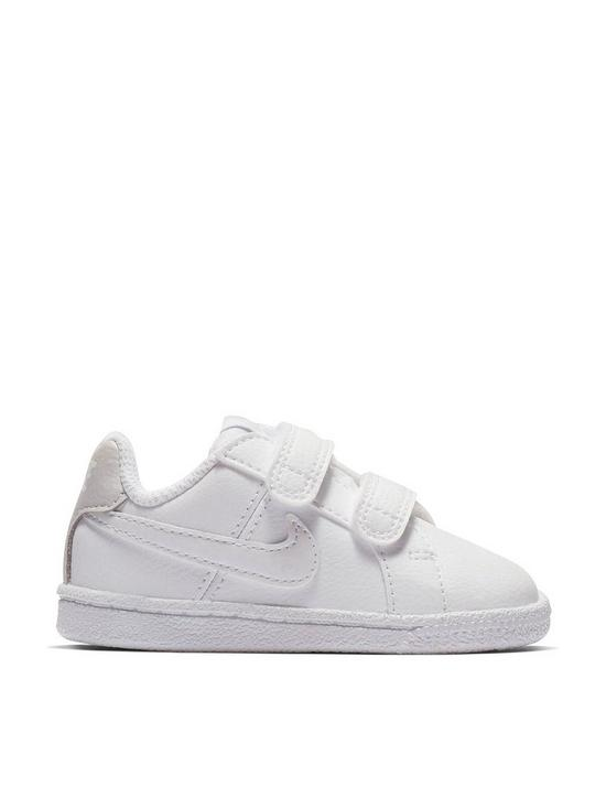 9c69347f8957 Nike Court Royale Gtv Infant Trainers