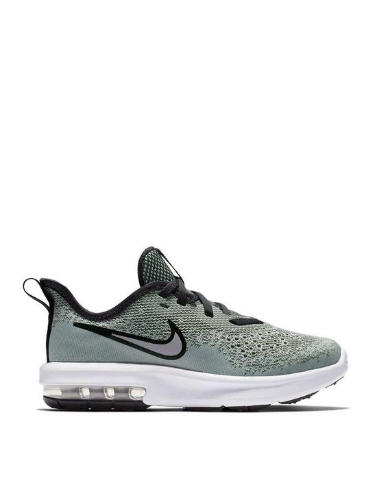 hot sale online 9d6e4 51873 Nike Air Max Sequent 4 Bp Childrens Trainers - Grey | very.co.uk