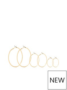 michelle-keegan-3-pack-hoops-gold