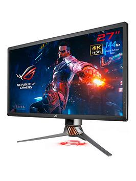 asus-rog-swift-pg27uq-gaming-monitor-27in-4k-uhd-overclockable-144hz-g-sync-hdr-quantum-dot-ips-aura-sync