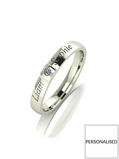 love-diamond-personalised-9ct-gold-diamond-set-25mm-wedding-band