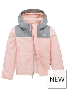 1b47f989dec67 THE NORTH FACE Girls Resolve Reflective Jacket - Pink