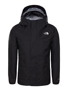 the-north-face-girls-resolve-reflective-jacket-black