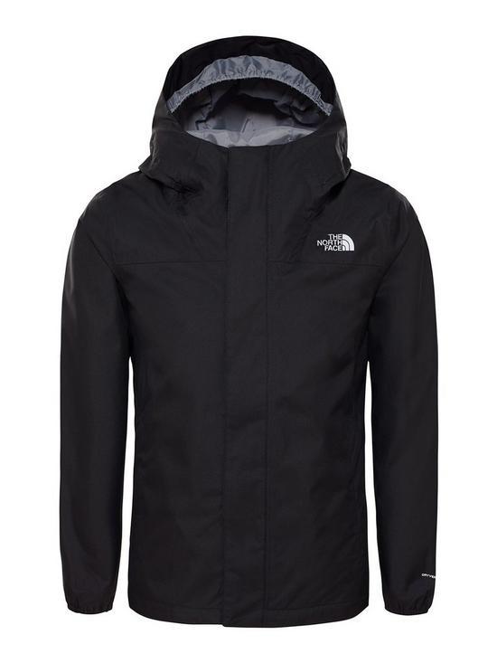 708830acc Girls Resolve Reflective Jacket - Black