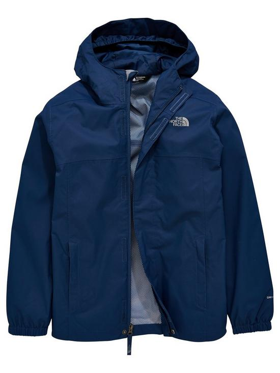 53a059011c THE NORTH FACE Boys Resolve Reflective Jacket - Blue | very.co.uk