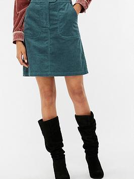 Monsoon Casey Cord Skirt
