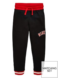 the best attitude e2fae 6a80b Nike Air Boys Fleece Pants - Black