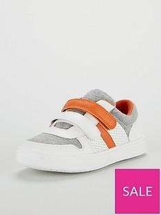 mini-v-by-very-felix-orange-twin-strap-trainers-multi
