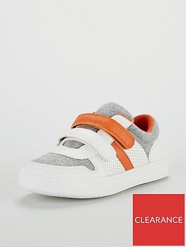 mini-v-by-very-felix-orange-twin-strap-trainers-multi