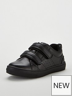 6fbdb2c47 Mini V by Very Boys Matty Velcro Back To School Shoes - Black